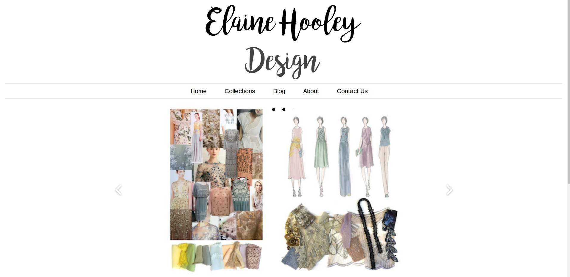 Elaine Hooley Design Freelance Project